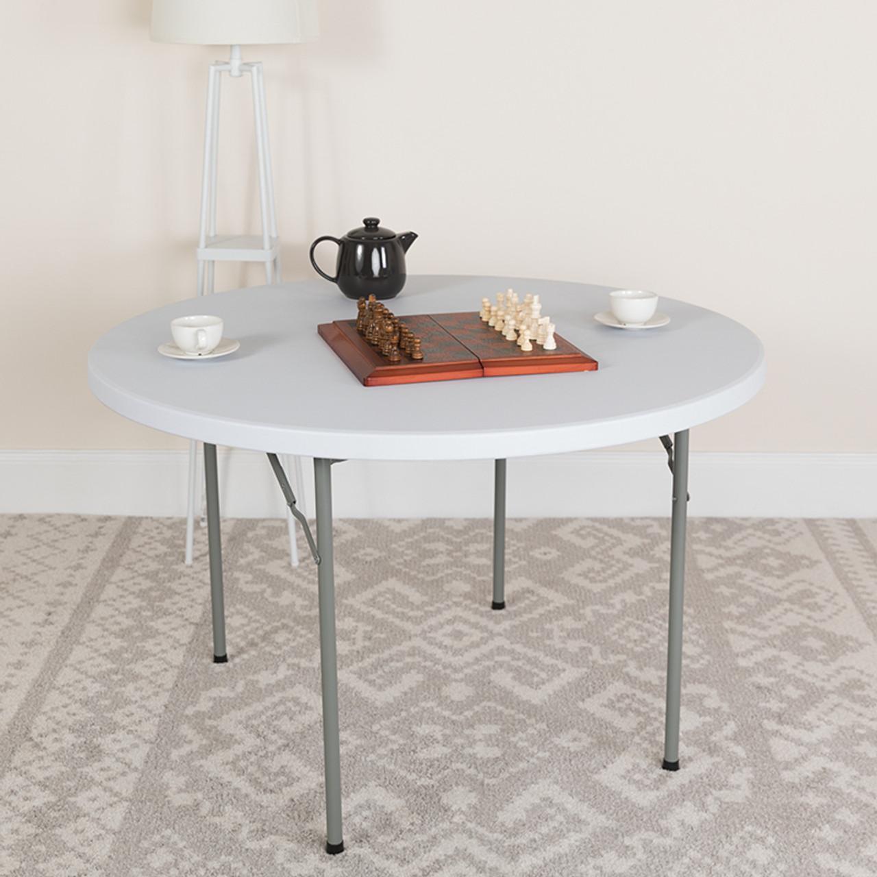 Round Plastic Folding Tables