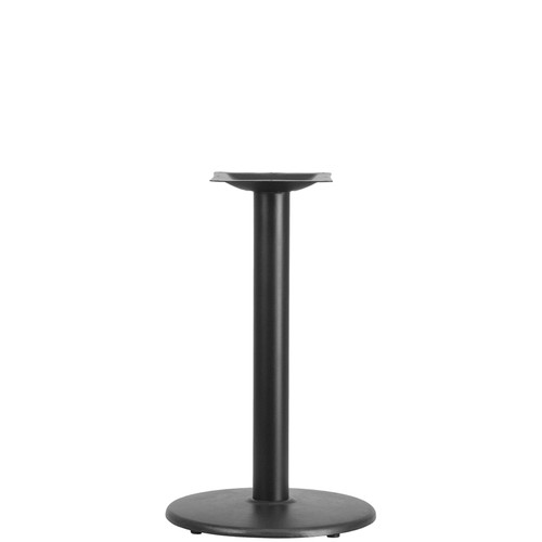 18'' Round Restaurant Table Base with 3'' Dia. Table Height Column