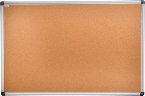 "Viztex Cork Bulletin Board – Aluminium Trim - 48"" X 36"""