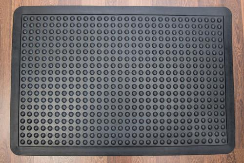 """Doortex Anti-FatigueMat - Bubble 36"""" X 60"""" - Black"""
