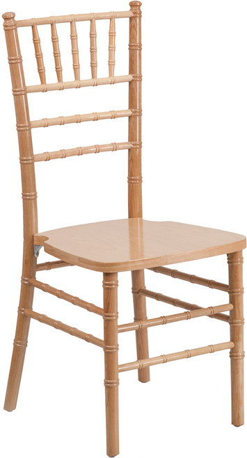 TYCOON Series Natural Wood Chiavari Chair