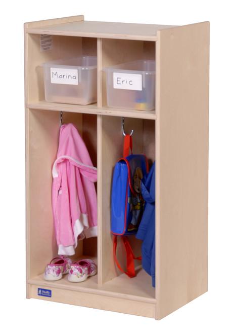 2-Section Toddler Locker
