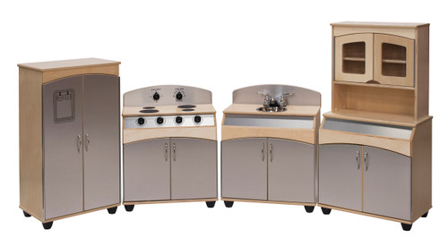 4-Piece Deluxe Contemporary Complete Kitchen Set