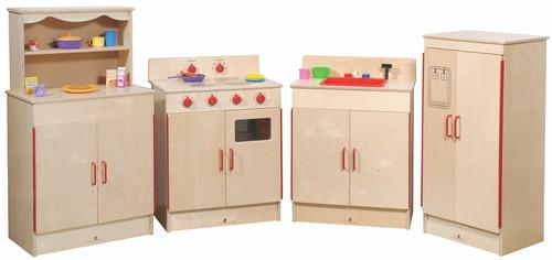 4-Piece Complete School-Age Kitchen Set