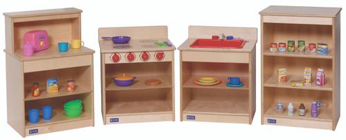 4-Piece Complete Toddler Kitchen Set