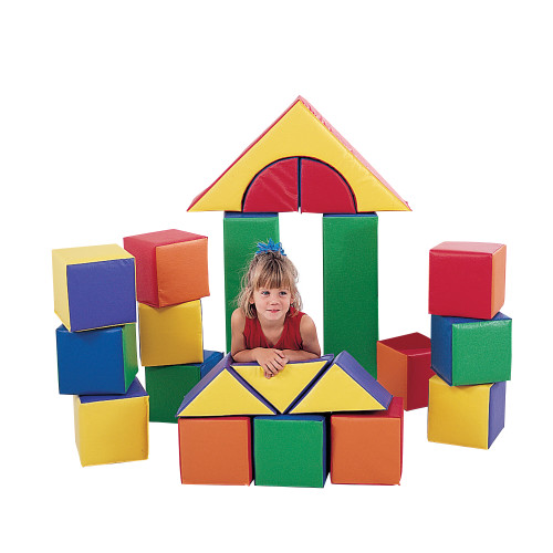 "9"" Soft Blocks - Set of 21"