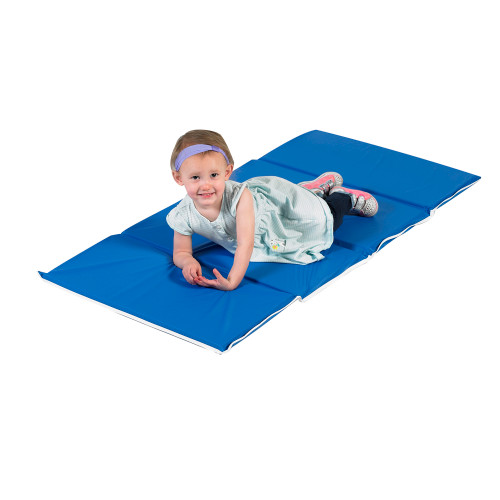 "1"" Tough Duty Folding Rest Mat - Blue"
