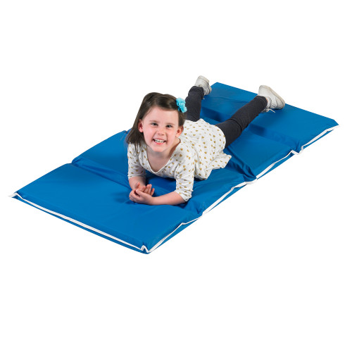"2"" Tough Duty Folding Rest Mat - Blue"