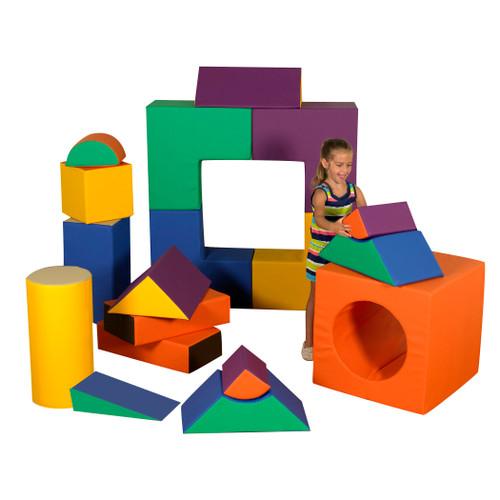 18 Piece Jumbo Block Set