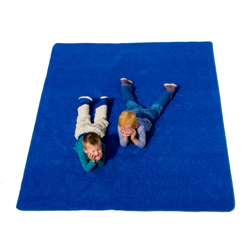 Blue Solid - Rectangular Small