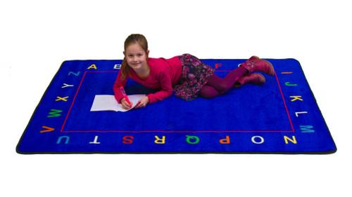 Alphabet Value Rug - Rectangular