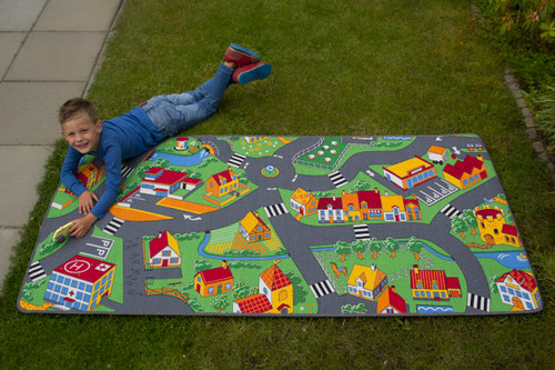 Happy Little Town Rug