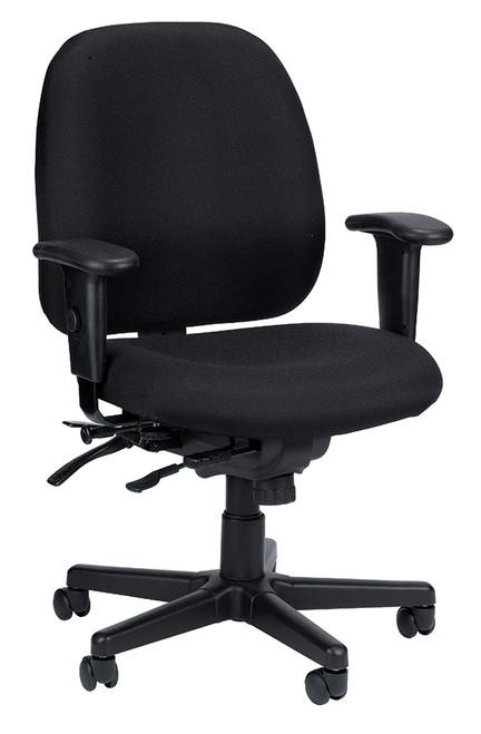 Eurotech 4x4SL 498SL Seat Slider Swivel Fabric Chair