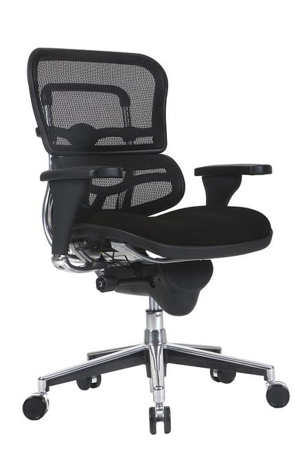 Eurotech Ergo Lo-Back Fabic Seat & Mesh Back Chair