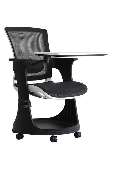 Eurotech Eduskate Elastic Mesh Seat and Back Designer Nylon Frame Mobile Tablet Arm Chair