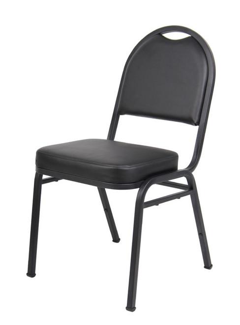 Boss Black Caressoft Banquet Chair (set of 4)