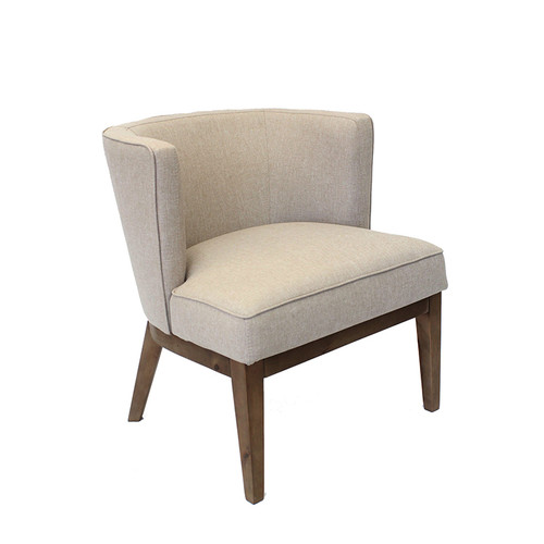 Boss Ava guest, accent or dining chair - Beige