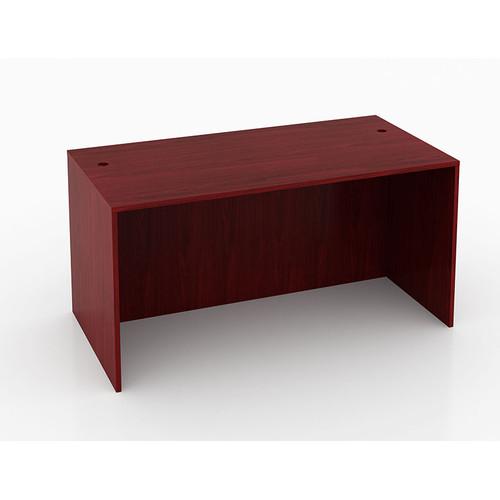 "Boss Desk Shell, 71""W X 36""D, Mahogany"