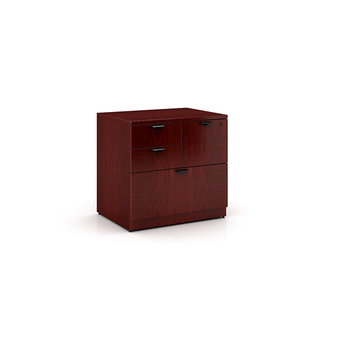 Boss Combo Lateral File, Mahogany 31*22
