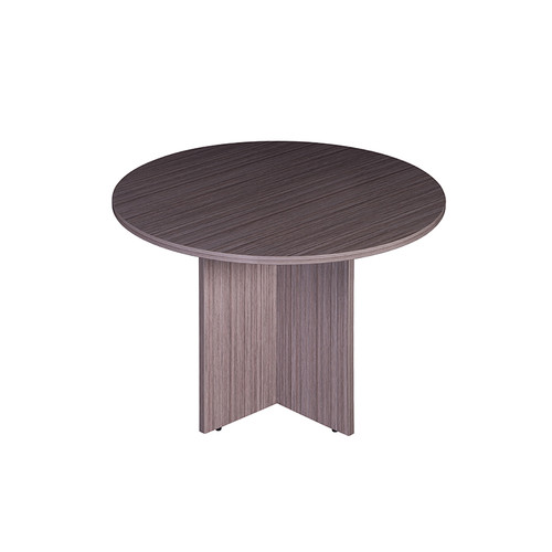 """Boss 47"""" Round Table, Driftwood"""