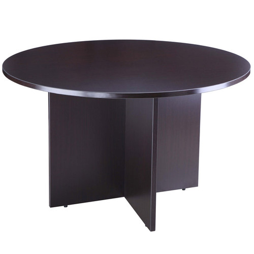"Boss 47"" Round Table, Mocha"