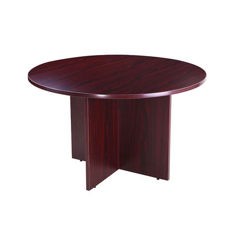 """Boss 42"""" Round Table, Mahogany"""