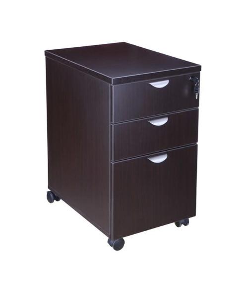 Boss Mobile Pedestal Box/Box/File, Honey Comb Packing, Mocha