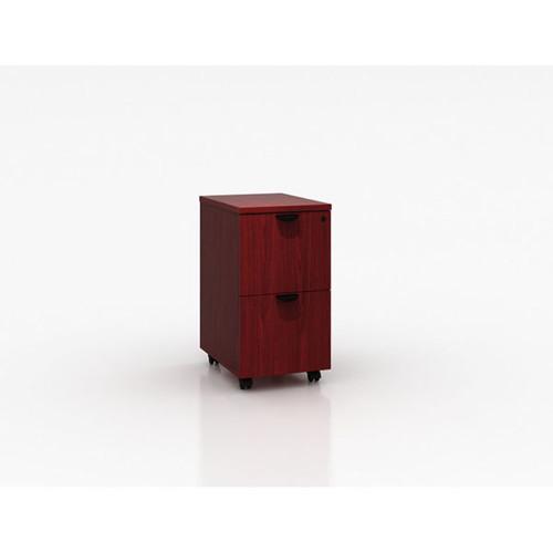 Boss Mobile Pedestal, File/File Mahogany 16*22*29.5H