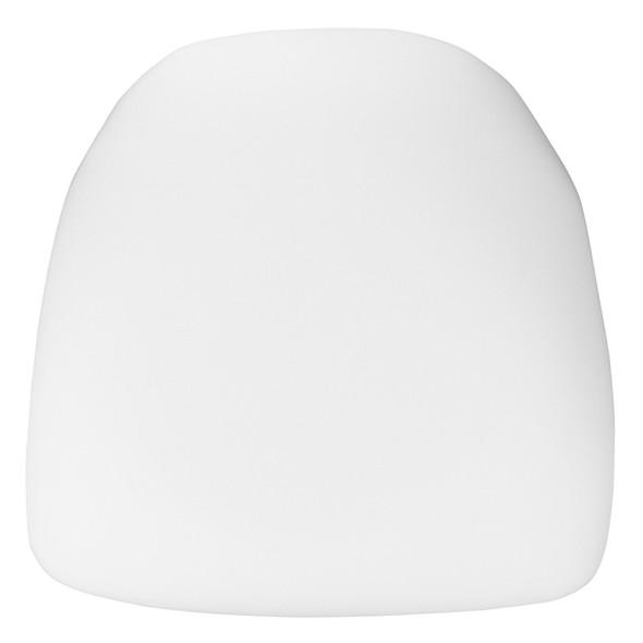 Hard White Fabric Chiavari Chair Cushion