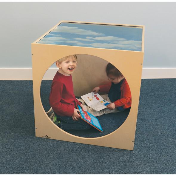 Acrylic Top Play House Cube