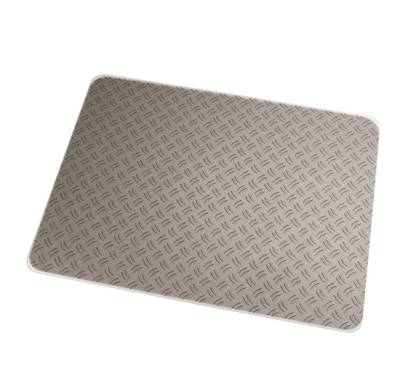 "Colortex Photo Ultimat Rectangular General Purpose Mat In Grey Ripple Design for Hard Floors & Low Pile Carpets (36"" X 48"")"