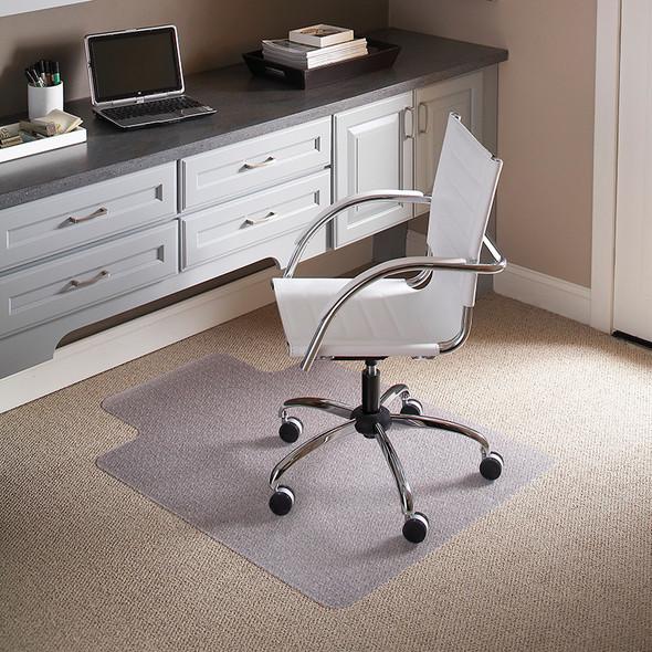 36'' x 48'' Carpet Chair Mat with Lip