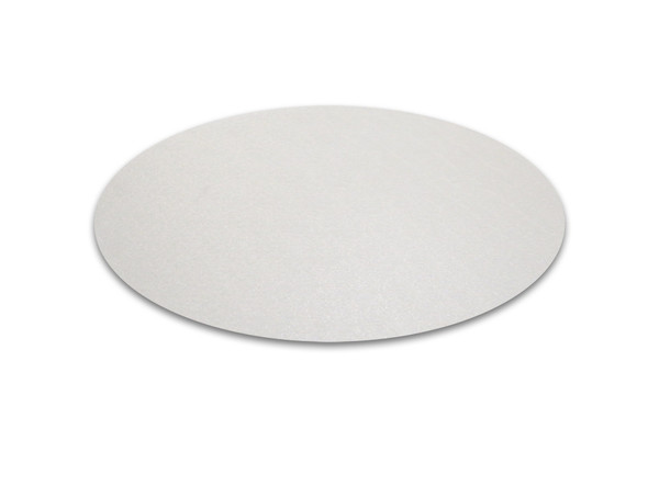 """Cleartex Polycarbonate Circular General Purpose Mats for Hard Floors - Diameter 24"""""""