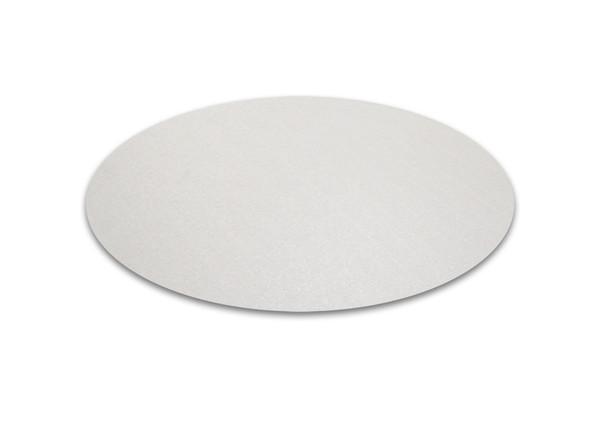 """Cleartex Polycarbonate Circular General Purpose Mats for Hard Floors - Diameter 36"""""""