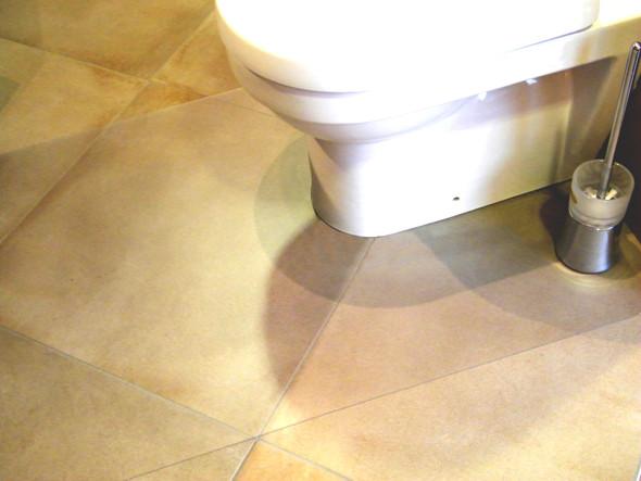 "Hometex Rectangular Toilet Mat with cut out (48"" X 30"")"