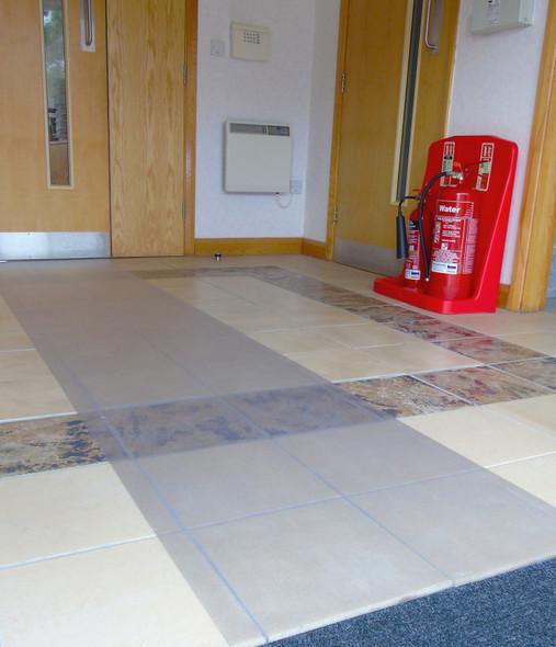 "Floortex Long & Strong Floor Protector for Hard Floors (27"" X 12ft)"
