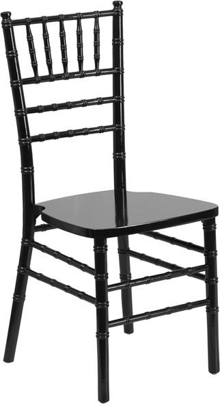 TYCOON Series Black Wood Chiavari Chair