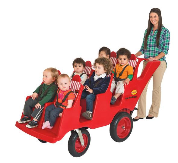 "6 Passenger Never Flat ""Fat Tire"" Bye-Bye Buggy®"