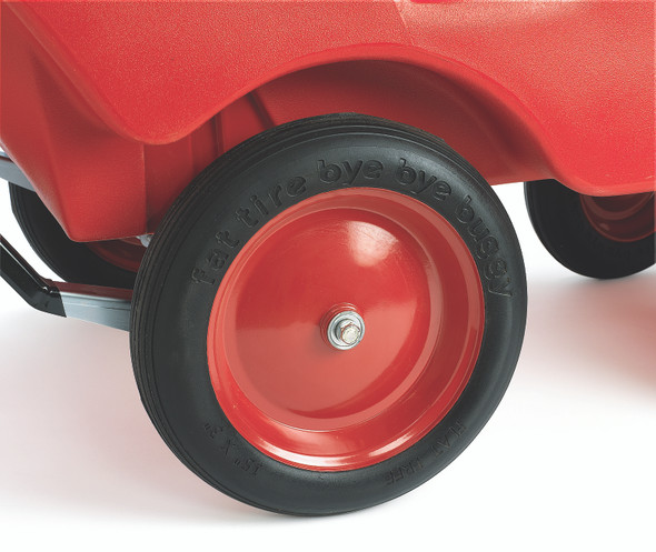 """6 Passenger Never Flat """"Fat Tire"""" Red/Grey Bye-Bye Buggy®"""