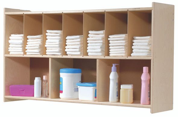 Diaper Wall Shelf