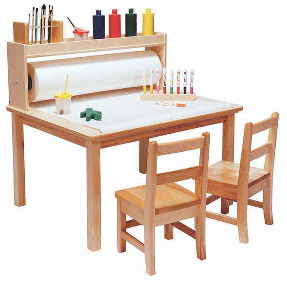 """Arts & Crafts Table - 24"""" Legs"""
