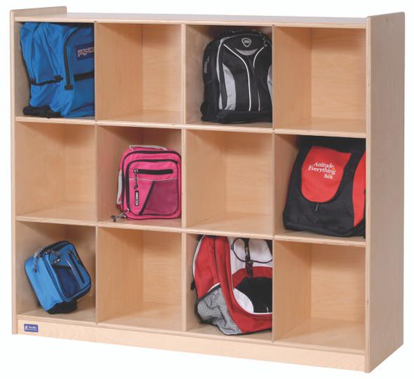 12-Cubby Storage