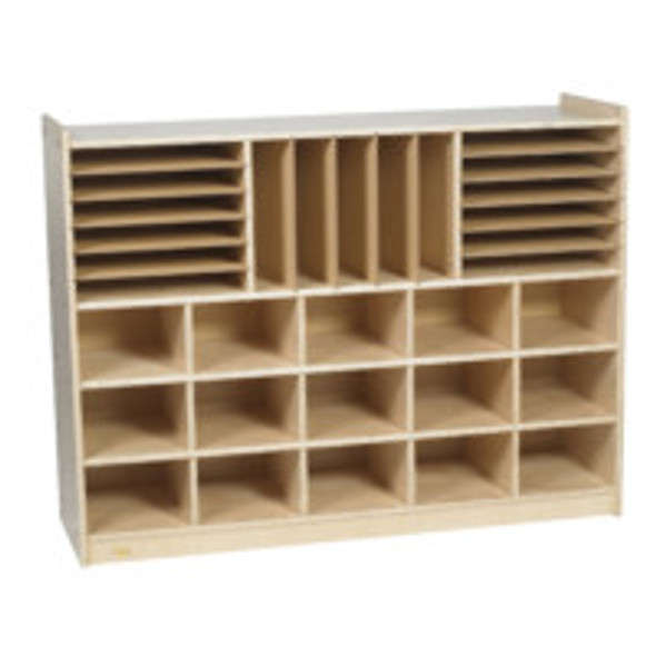 Value Line® Birch Multi-Section Storage - Unit Only