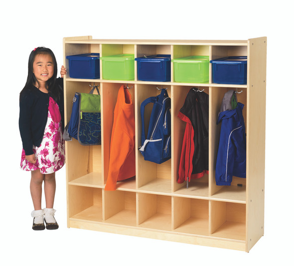 Value Line® Birch 5-Section Locker
