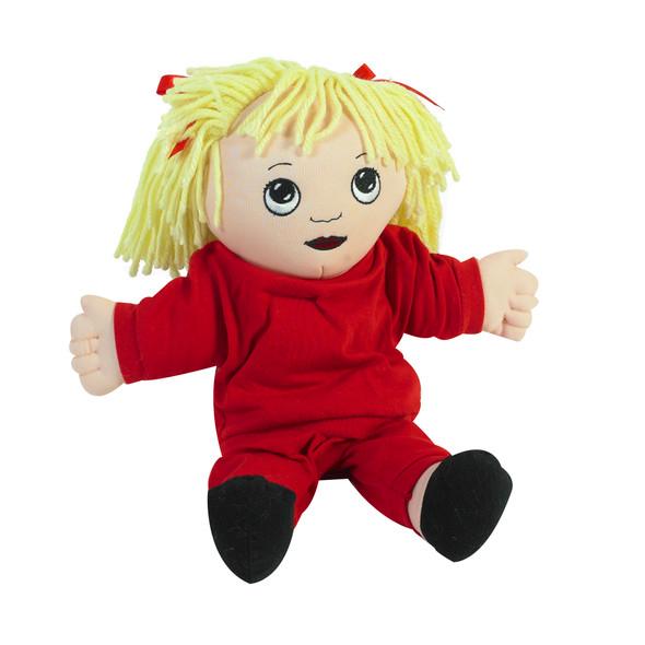 Sweat Suit Doll - Caucasian Girl
