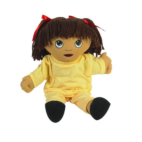 Sweat Suit Doll - Hispanic Girl