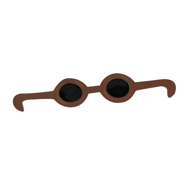 Dark Vinyl Eye Glasses for Dolls
