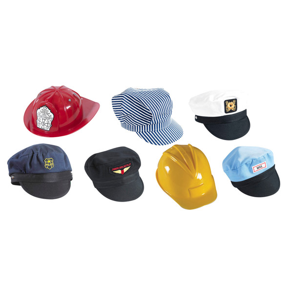 Go to Work Hats - Set of 7