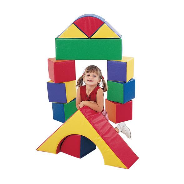 "9"" Soft Blocks - Set of 12"