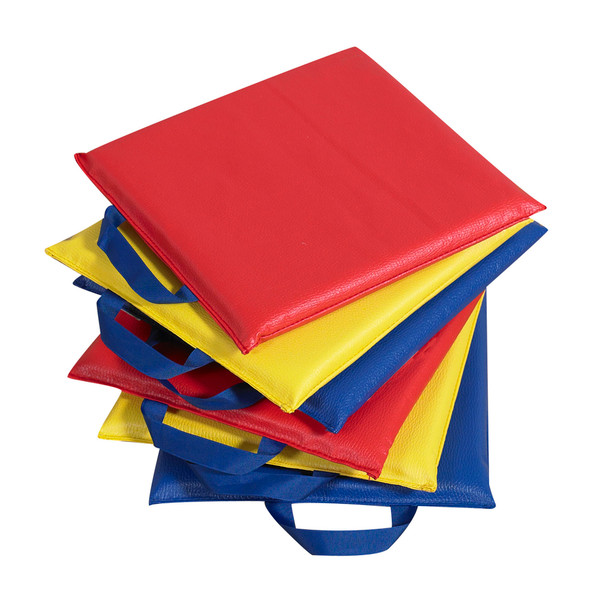 """12"""" Primary Sit-Upons - Set of 6"""